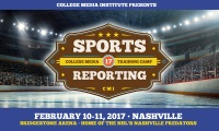 The 5th annual CMI Sports Journalism Conference will take place in February 2018.